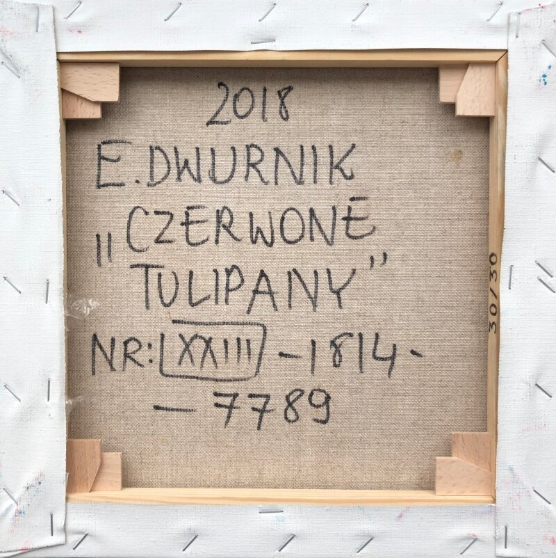 Edward Dwurnik - Olej