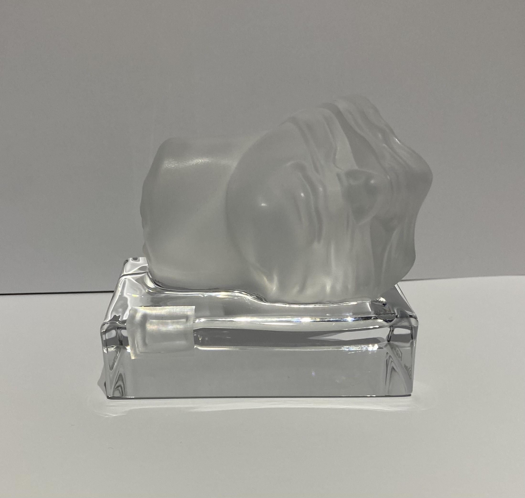 Igor Mitoraj – Szkło dla Daum France