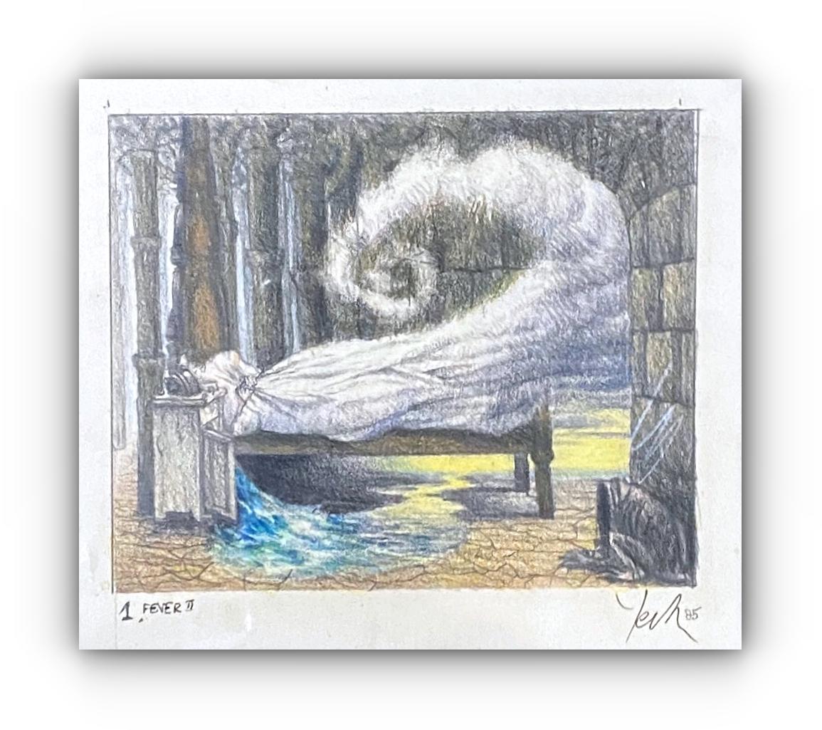 Jacek YERKA – Rysunek Kredka & Pastel